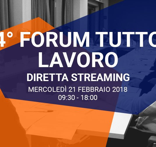 4° Forum Tutto Lavoro